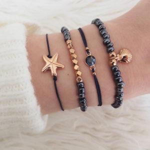 Armbandsset - Black star